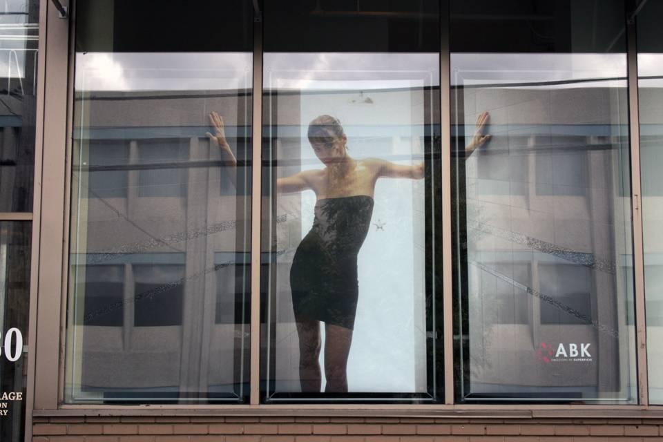 cadre vitrine pour poster 48x96. Black Bedroom Furniture Sets. Home Design Ideas