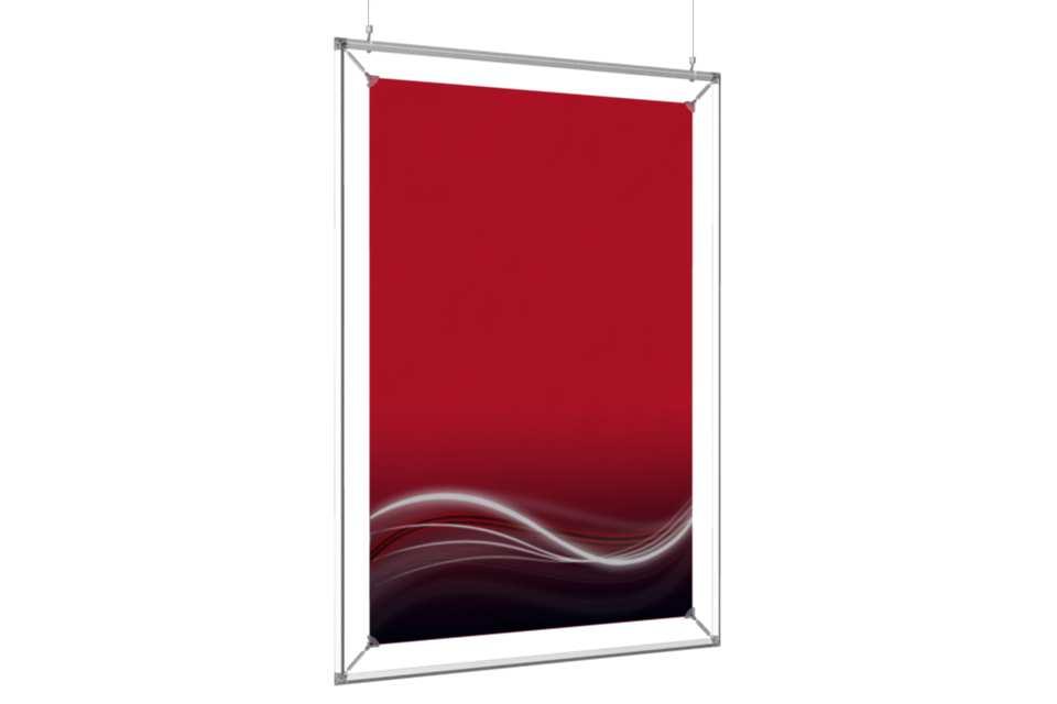 cadre suspendu pour un poster de 24x36. Black Bedroom Furniture Sets. Home Design Ideas