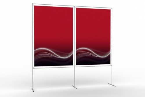 """Mur d'images pour deux posters de 48"""" (2x1)"""