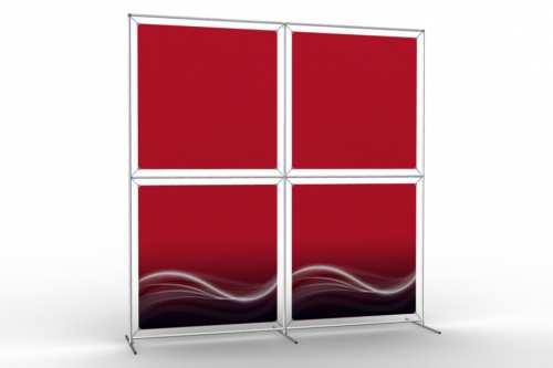"""Mur d'images pour quatre posters de 36"""" (2x2)"""