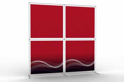 """Mur d'images pour quatre posters de 48"""" (2x2)"""