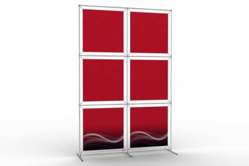"Image Wall to display 24"" wide posters (2x3)"