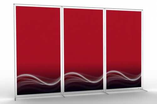 """Mur d'images pour trois posters de 48"""" (3x1)"""