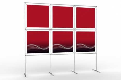 """Mur d'images pour six posters de 24"""" (3x2)"""