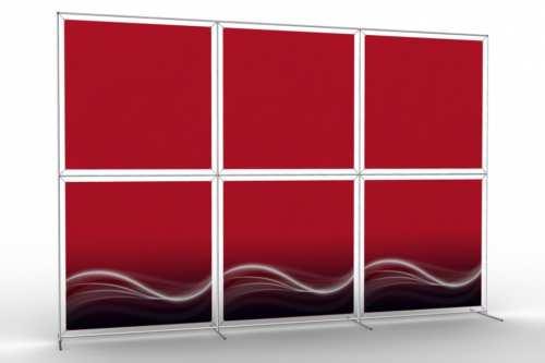 """Mur d'images pour six posters de 48"""" (3x2)"""