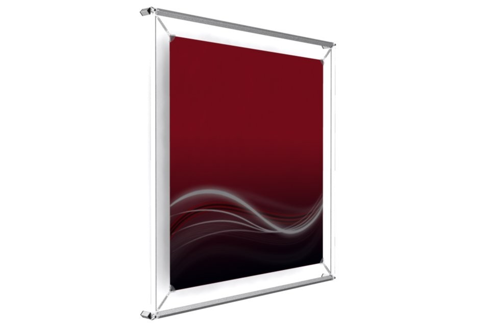 poster frame to hold a 24� x 24� poster