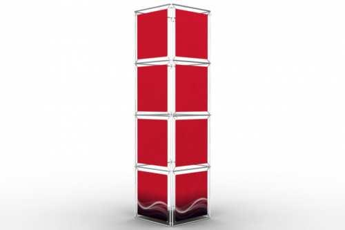 """Tour rectangulaire pour posters de 24"""" (4x4)"""