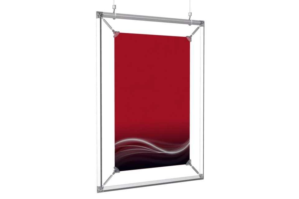 hanging poster frame to display an 11x17 poster. Black Bedroom Furniture Sets. Home Design Ideas