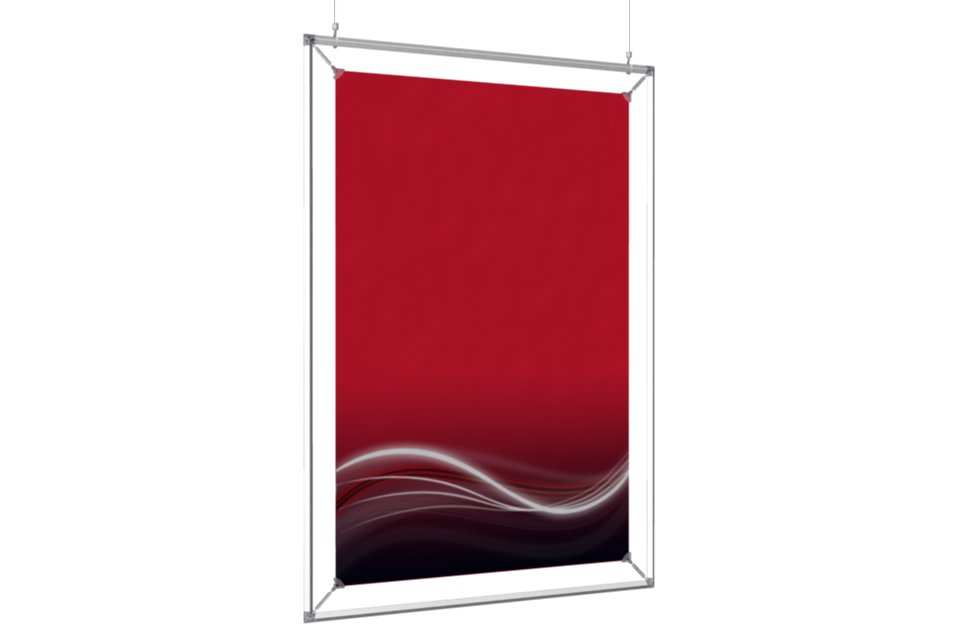 Hanging Poster Frame To Display A 24x36