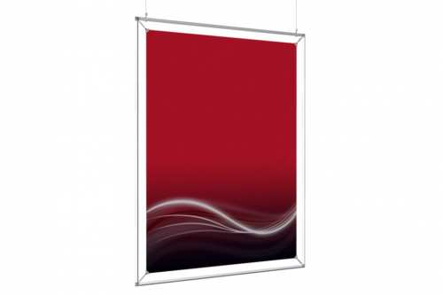"""Hanging Poster Frame to display a 36x48"""" poster"""