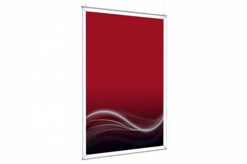 cadre suspendu pour un poster de 48x72. Black Bedroom Furniture Sets. Home Design Ideas