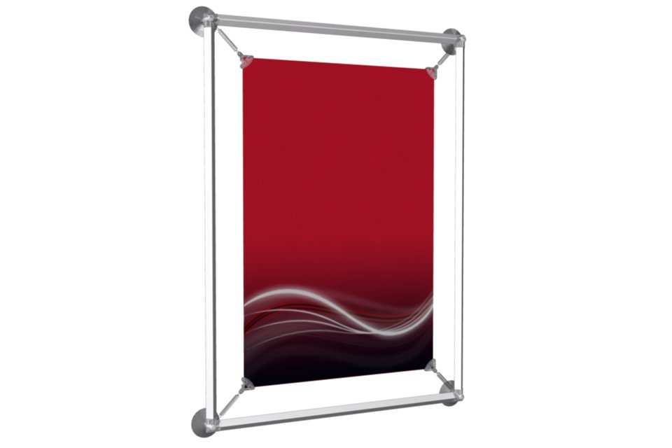 "Window Poster Frame to display a 13x19"" poster - AFIX Poster Display ..."