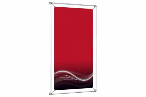 "Window Poster Frame to display a 24x48"" poster"