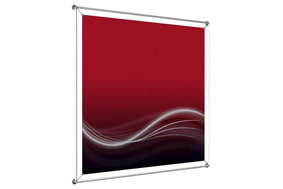cadre vitrine pour poster 48x48. Black Bedroom Furniture Sets. Home Design Ideas