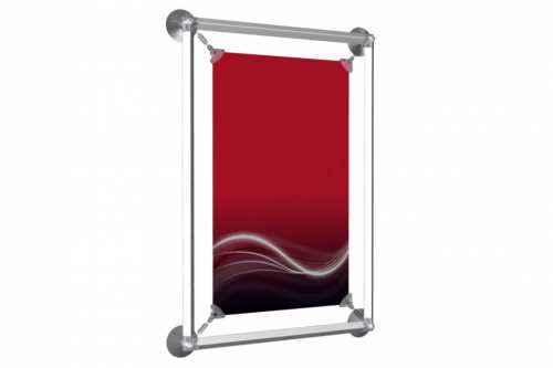 """Window Poster Frame to display an 8.5x11"""" poster"""