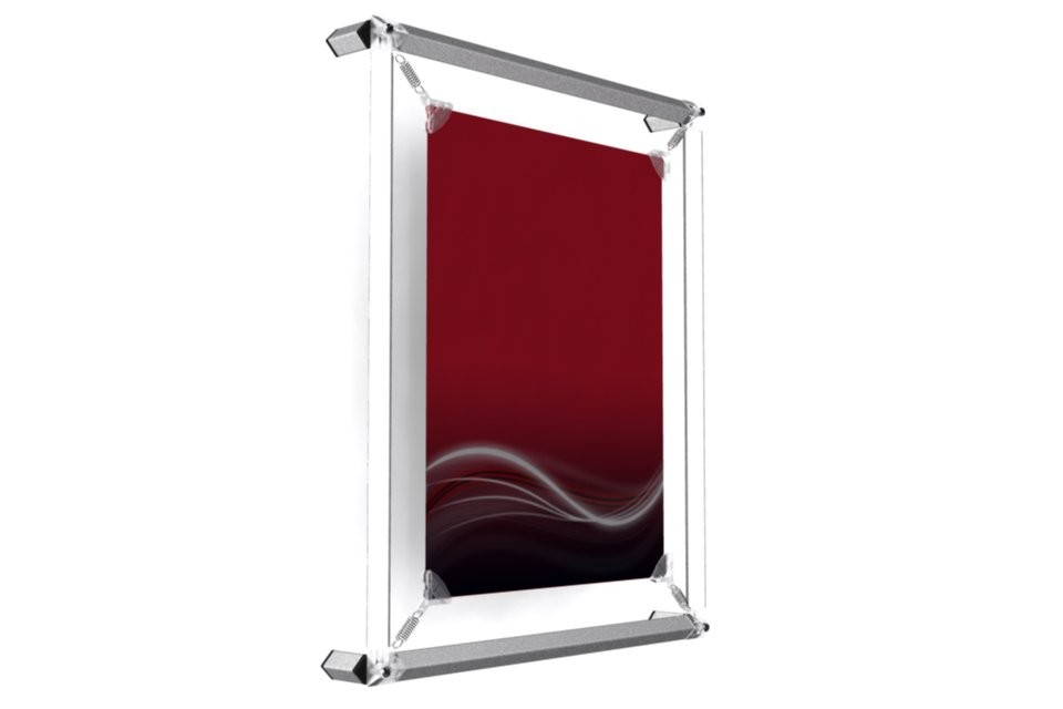 cadre mural pour poster 8x10. Black Bedroom Furniture Sets. Home Design Ideas