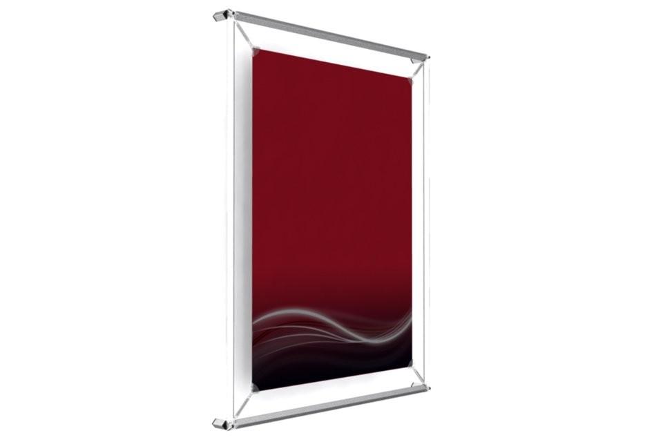 cadre mural pour poster 17x22. Black Bedroom Furniture Sets. Home Design Ideas