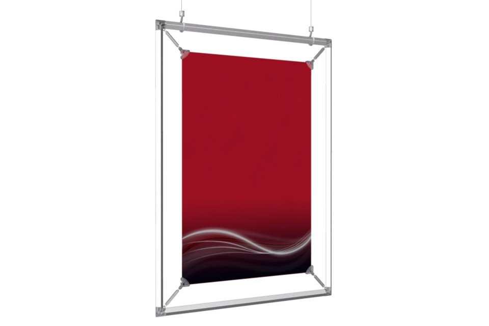 cadre suspendu pour un poster de 16x20. Black Bedroom Furniture Sets. Home Design Ideas