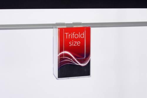 Trifold size Brochure Holder
