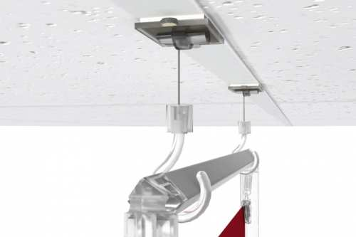 Crochets ajustables pour plafond
