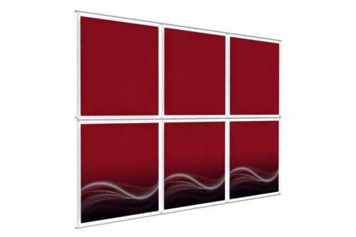 """Mur d'images Mural pour posters de 48"""" (3x2)"""