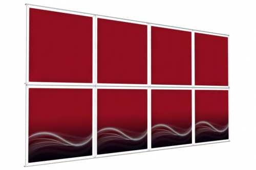 """Mur d'images Mural pour posters de 48"""" (4x2)"""