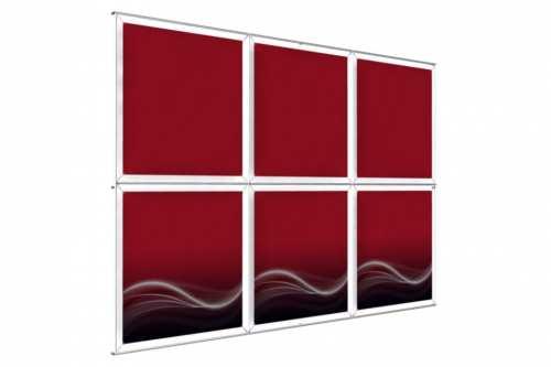 """Mur d'images Mural pour posters de 36"""" (3x2)"""