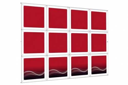 """Mur d'images Mural pour posters de 18"""" (4x3)"""