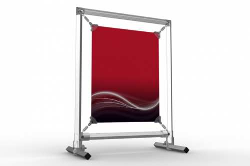 """Upright Counter Stand to display an 8x10"""" poster"""