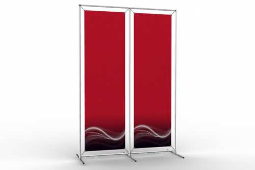 """Image Wall to display 18"""" wide posters (2x1)"""