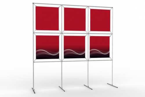 """Image Wall to display 18"""" wide posters (3x2)"""
