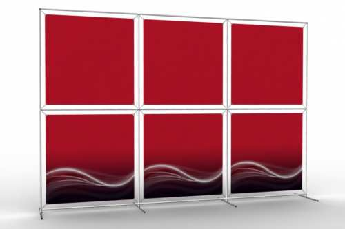 """Image Wall to display 36"""" wide posters (3x2)"""