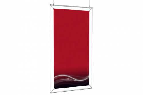 """Hanging Poster Frame to display a 24x48"""" poster"""