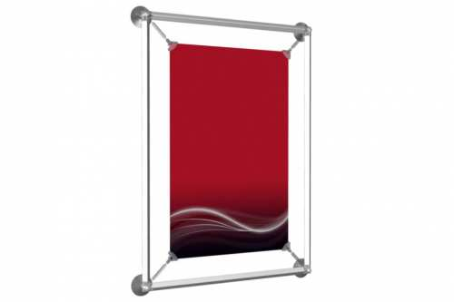 """Window Poster Frame to display an 11x17"""" poster"""
