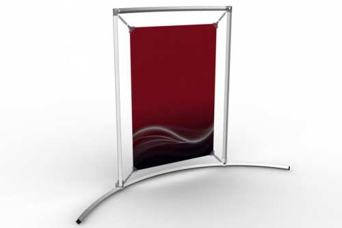 """Curved Counter Frame to display a 13x19"""" poster"""