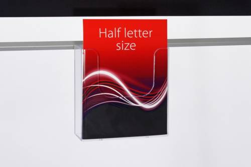 Half Letter size Brochure Holder