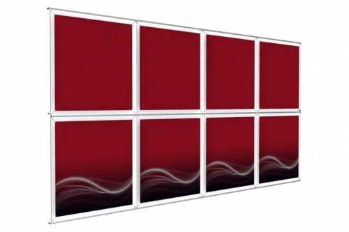 """Mur d'images Mural pour posters de 36"""" (4x2)"""