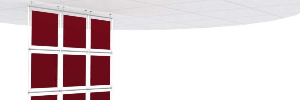 Murs d'Images Suspendus